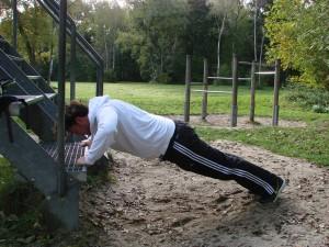 personal training isar-push up